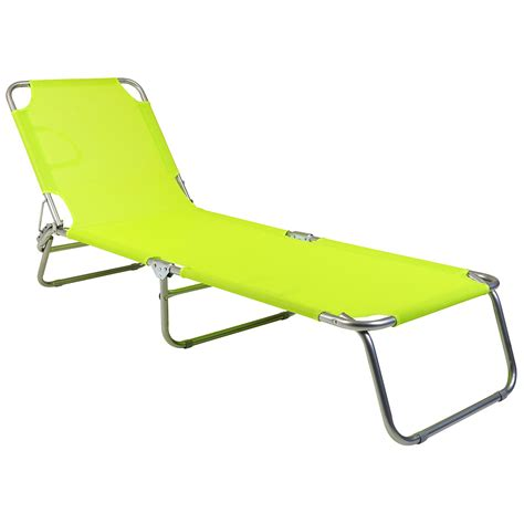 lime green bentley bentley explorer foldable sun lounger blue grey green
