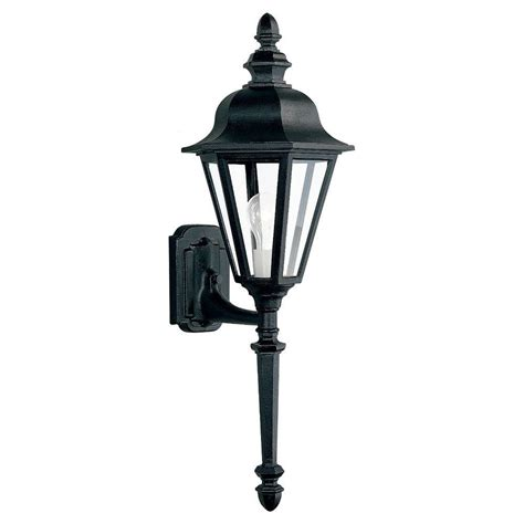 Nickel Outdoor Lighting Fixtures Sea Gull Lighting Jamestowne 1 Light Antique Brushed Nickel Outdoor Wall Fixture 8457 965 The
