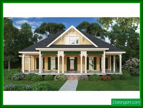 one story house plans with wrap around porch ranch