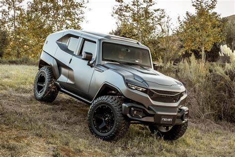 Hummer Boots Balado Brown Build Up bulletproof vision this custom wrangler costs