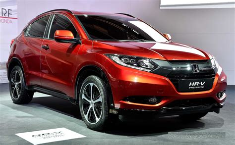 Honda In 2016 Honda Hrv Facelift Review Interior Images Photos