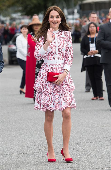 Email Lookup Canada Kate Middleton Pays Homage To Canada In White Ruffled Frock