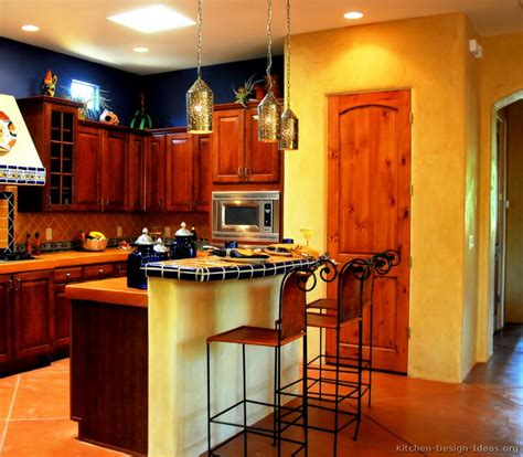 Kitchen Color Design Ideas by Mexican Kitchen Design Pictures And Decorating Ideas
