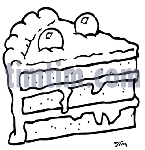 layer cake coloring pages layer cake drawing pictures to pin on pinterest pinsdaddy