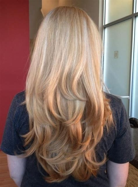 long hair with layers in bottom subtle reverse ombre long layers