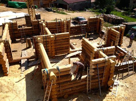 Construction En Rondin by Construction Rondin De Bois Maison Design Apsip