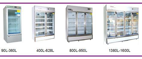 temperature controlled medication cabinet glass door fridge lab refrigerator storage