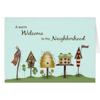 Welcome To The Neighborhood Card Template by Welcome To The Neighborhood Cards Photo Card Templates
