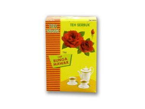 Teh Mawar teh wangi cap bunga mawar
