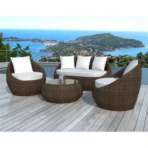 Salon De Jardin En Rotin 3376 by Alu Concept Tis Design
