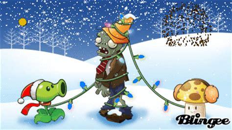 imagenes de plantas vs zombies navidad plantas vs zombies navidad 1 picture 129685370 blingee com
