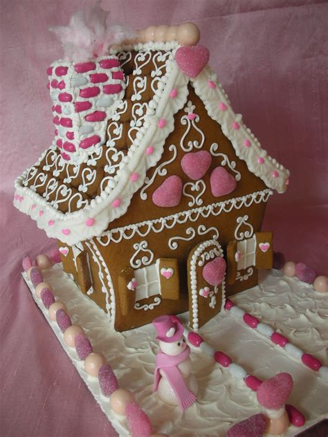with love confection valentine gingerbread house by