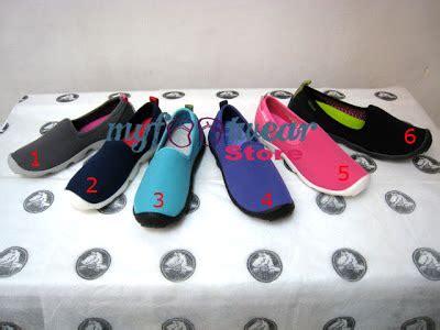 Sepatu Sendal Slip On Wedges Wanita Original Mulan 1200 myfootwearstore pusat sepatu crocs murah surabaya duet