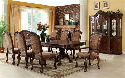 von furniture versailles large formal dining room set in von furniture cromwell formal dining room set