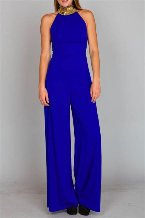 Jumpsuit Blue ark co royal blue jumpsuit from new york by prophecy