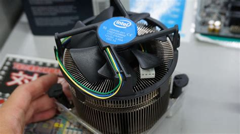 most cpu fan intel s most advanced reference cooler to date the ts15a