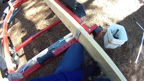 harbor freight boat trailer upgrades adding a winch - Harbor Freight Boat Trailer Bunks