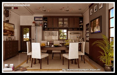 modern dream house design philippine dream house design modern dining and kitchen design combine