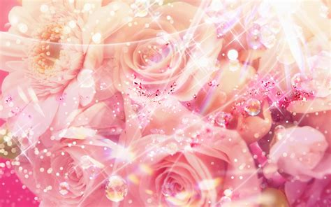 glitter wallpapers of flowers flower wallpaper backgrounds desktop wallpaper red