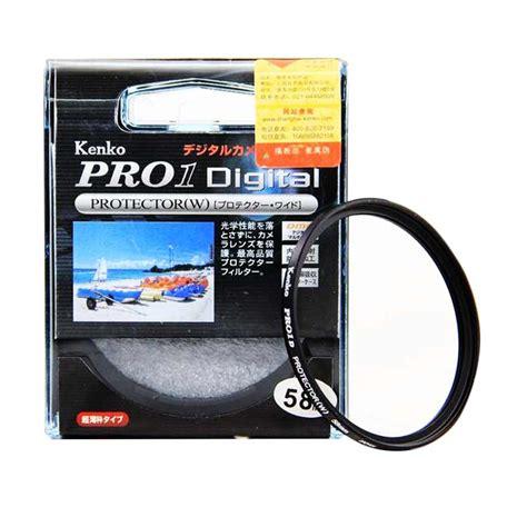 Filter Lensa Uv Filter Kamera Kenko Optical Digital Filter 58mm jual kenko filter pro 1 digital protector w 58mm filter