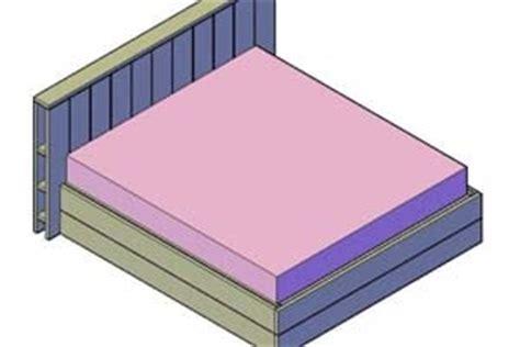 Bouwtekening Pallet Bed by Een Bedombouw Maken Voor Doe Het Zelvers