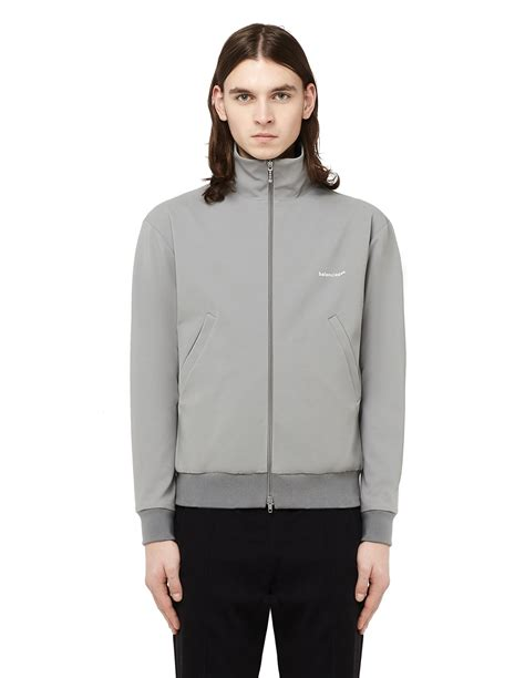 balenciaga zip up stand collar track jacket svmoscow