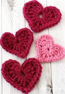 crochet heart applique skip to my lou
