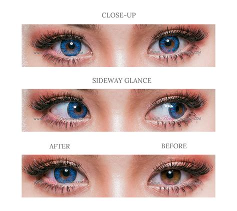 blue colored contact lenses venus eye blue circle lenses colored contacts