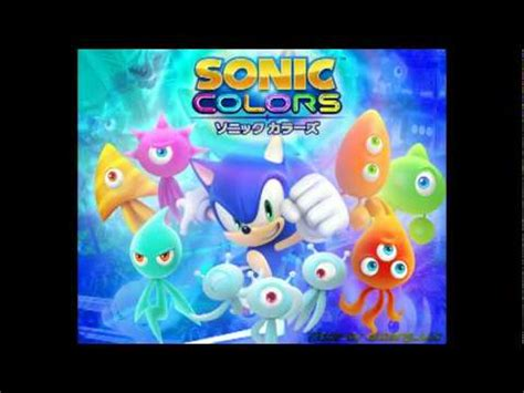 colors soundtrack sonic colors original soundtrack 1up jingle