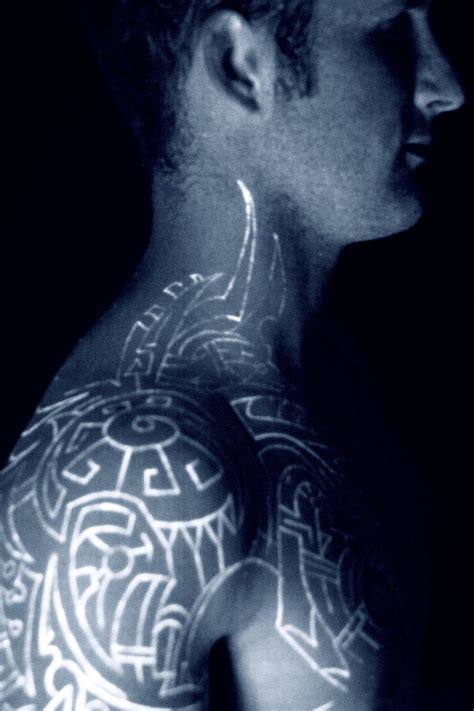 Black Light Ink by Black Light Tattoos Designs Ideas And Meaning Tattoos For You