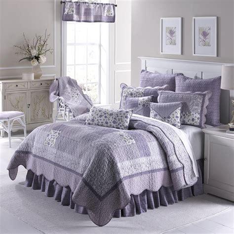 Lavendar Quilt by Lavender Patchwork Quilt By Donna Sharp