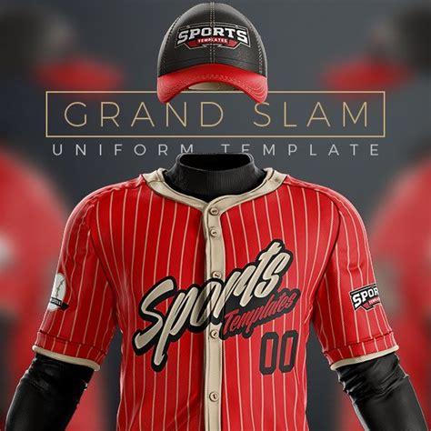 Baseball Uniform Template Mockup Psd For Photoshop Sports Templates Freebies Mockups Baseball Jersey Template Psd