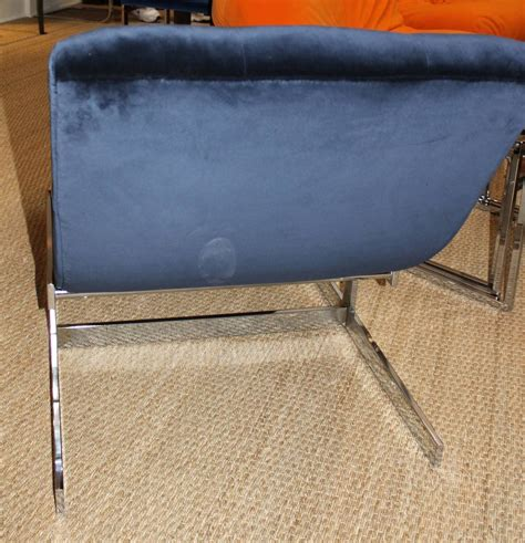 floating chaise longue milo baughman floating wave chaise lounge at 1stdibs