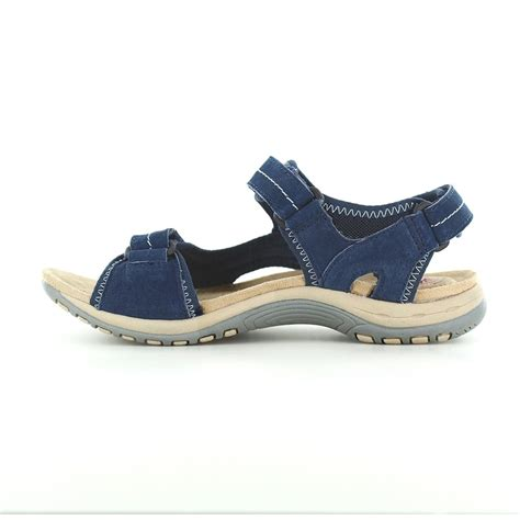 navy blue sandals earth spirit arlington womens walking sandals navy blue