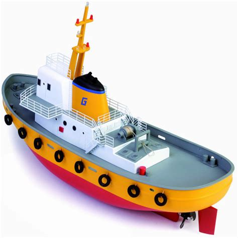 model boat kits radio controlled graupner pollux ii rc tug boat kit radio control model