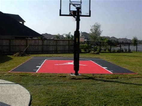 Backyard Basketball by Outdoor Basketball Court Tile For Backyard Courts