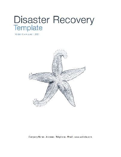 disaster recovery plan apple iwork pages numbers