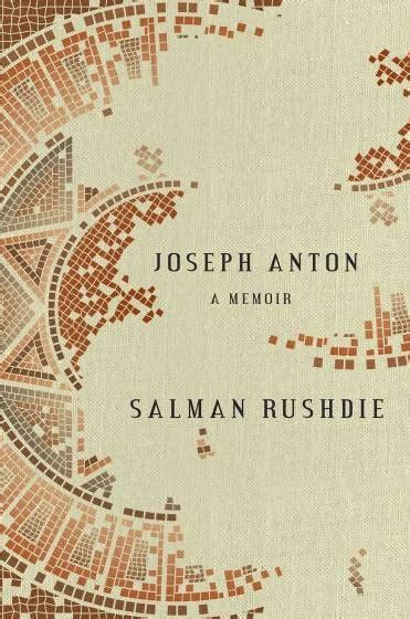 libro joseph anton memorias novedades literarias para terminar el a 241 o