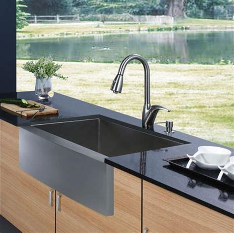vigo stainless steel farmhouse sink apron sinks not just for a farmhouse kitchen