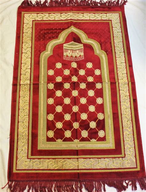 Islamic Prayer Rug by New Turkish Islamic Prayer Rug Mat Namaz Salat Musallah