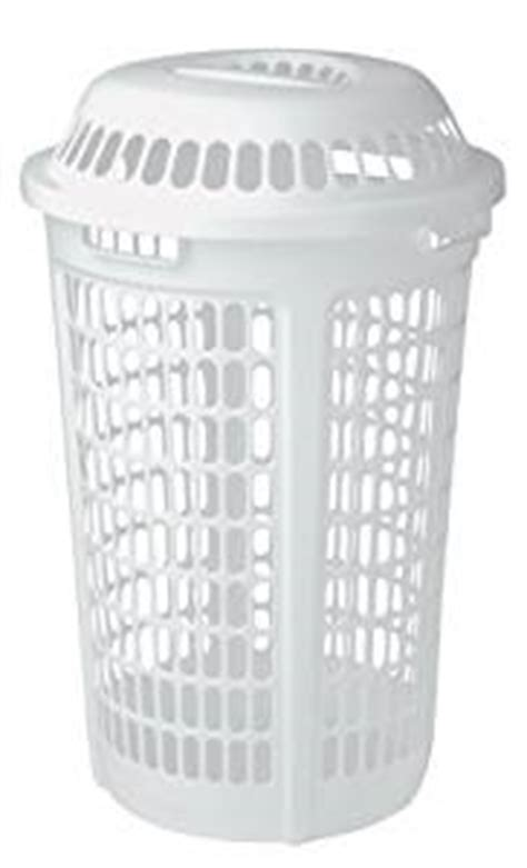 Amazon Com United Solutions Ln0009 White Plastic Two Plastic Laundry With Lid