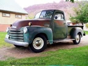 jim mcgillis 1950 chevy 3100 half ton truck