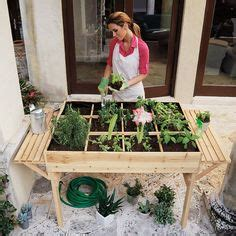 1000 images about herb vegetable and otherwise edible 1000 ideas about garden table on pinterest garden table