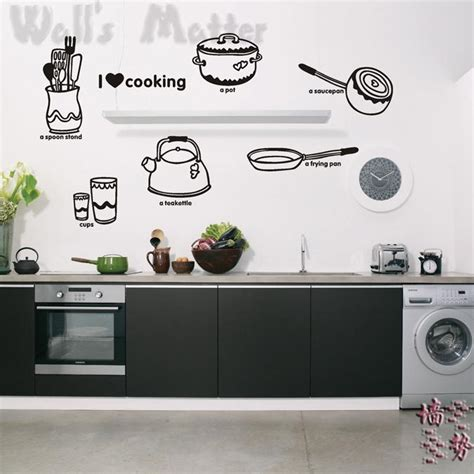 shop popular kitchen cabinet decals from china aliexpress