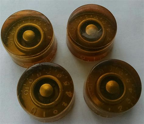 Les Paul Speed Knobs by Gibson Les Paul Speed Knobs 1952 Gold Reverb