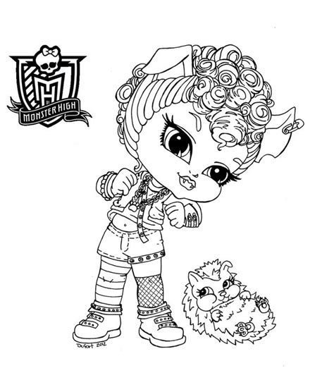monster high baby cupid coloring pages baby monster high coloring pages baby howleen by