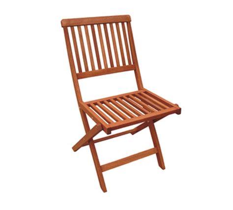 sedie in legno da esterno sedia pieghevole da esterno 46x58x83h legno meranti