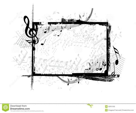 printable music banner music royalty free stock photo image 32915165