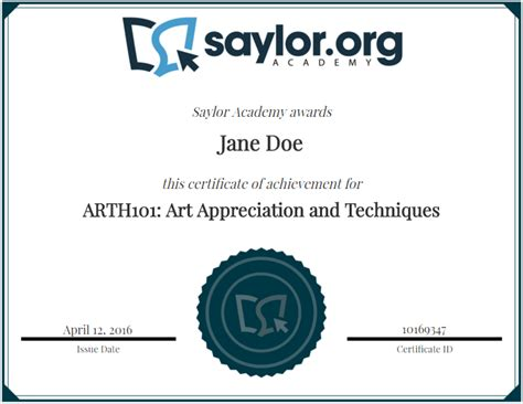 best certificate courses about saylor academy certificates from accredible saylor