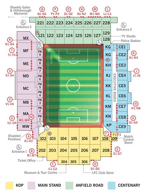 seating plan anfield seating plan liverpool fc